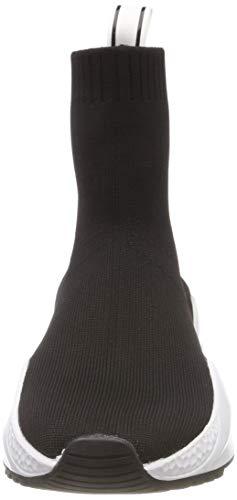 Knit Alto Maddox A Donna black Collo Sneaker 001 Kenneth Stretch Nero Cole Hx6qFw60t