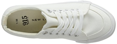 Mayes Fille White 10 Baskets New Blanc Look 8q5ZZ