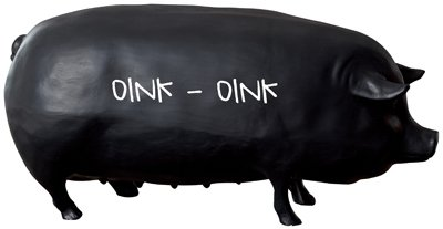 "20""L Chalkboard Pig free shipping"