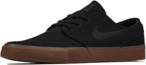 Nike Men s SB Zoom Stefan Janoski Skate Shoes Black Black-Gum Light Brown 7.5