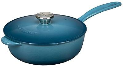 Le Creuset Enameled Cast-Iron 3-Quart Saucier Pan