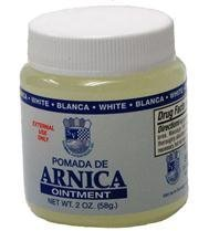 Sanar Arnica White Ointment - Pomada de Arnica Blanco - Pain Relief - Bruises... by Sanvall