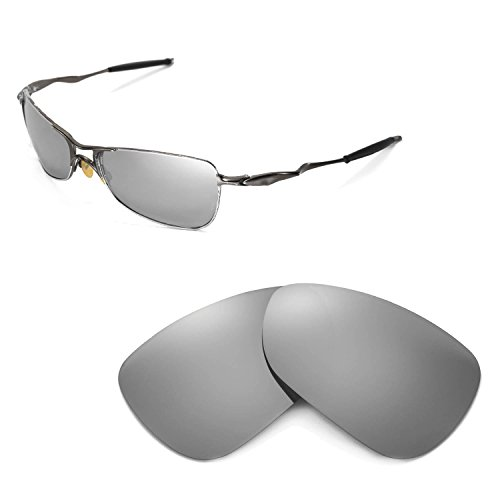 d27652c6a6 Walleva Replacement Lenses for Oakley Crosshair 1.0 (2005-2006 version)  Sunglasses - Multiple Options Available (Titanium Mirror Coated - Polarized)  - Buy ...