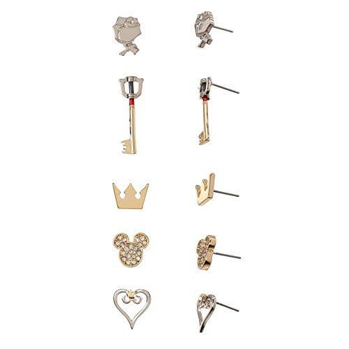 Bioworld Kingdom Hearts Earrings Video Game Jewelry Kingdom Hearts Gift - Kingdom Hearts Jewelry Kingdom Hearts Gift-