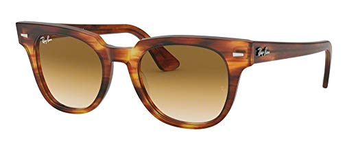Ray-Ban RB2168 METEOR 954/51 50M Striped Havana/Clear Brown Gradient Sunglasses For Men For ()
