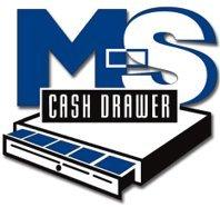Ms Cash Drawer EP-125NK-B M-S UNDER COUNTER CASH DRAWER