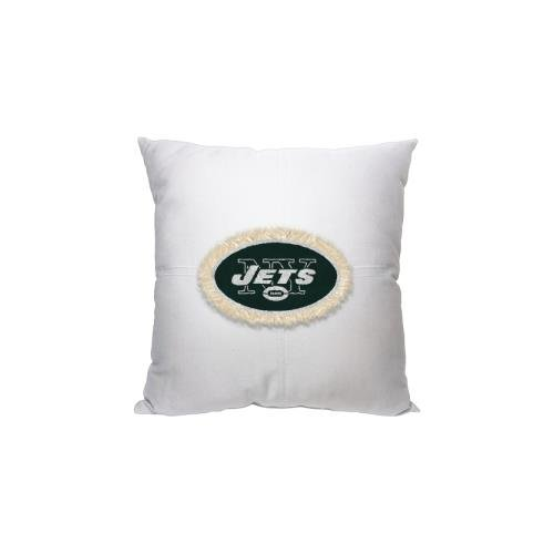 The Northwest Company Officially Licensed NFL York Jets Letterman Pillow, 18