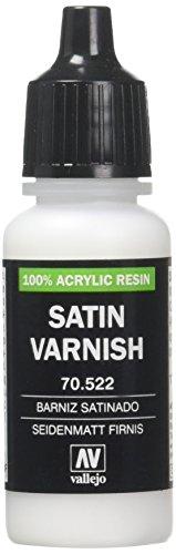 Vallejo Acrylic Paint, Satin Varnish