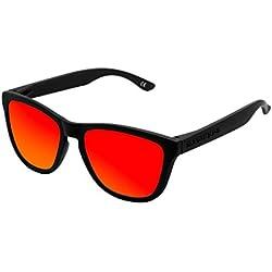 Hawkers Carbon Black Ruby One Gafas de Sol Unisex, color Negro
