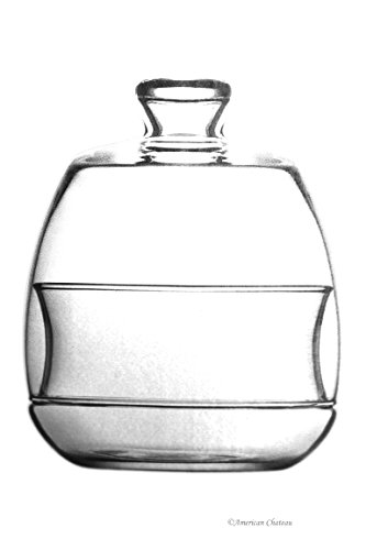 Sleek Glass Serving Jar