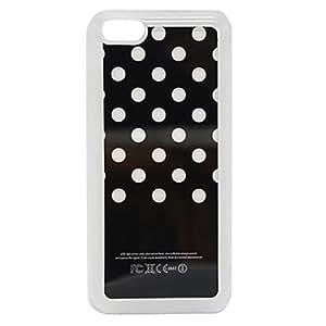 conseguir Sentido nuevo punto de luz del flash LED que cambia de color de la caja dura para el iphone 5c , Negro