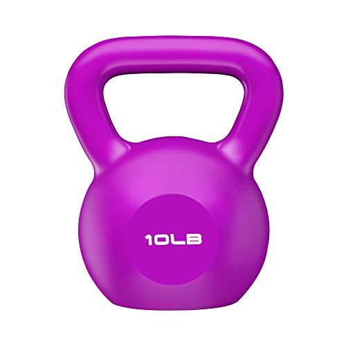 ELZXUN Kettlebell Weight Sets 10 lbs 15 lbs 20 lbs Workout Exercise Equipment for Beginner womem, Home Gym,Cross…