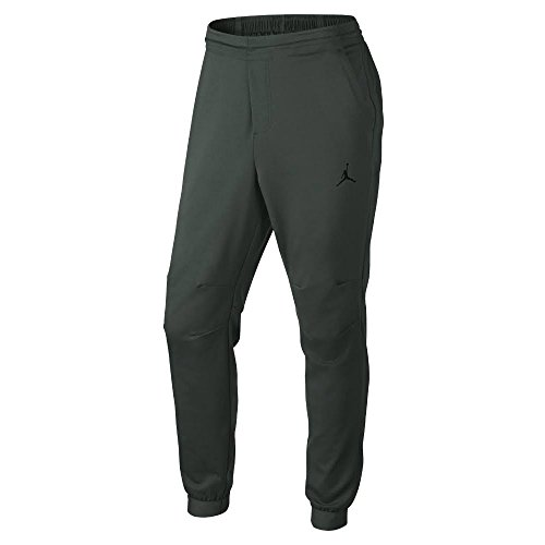 Jordan Mens 23 Lux Sweatpants XL Grove Green/Black