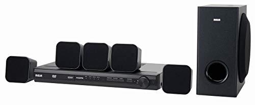 RCA (RTD3276H) 200-Watt 5.1 Channel DVD Home Theater System (Renewed)