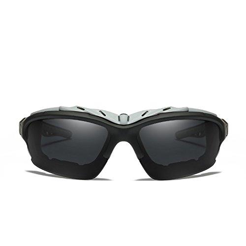 Polarizados Cuadro Para Gafas Lente black Uv400 El Guía De Sol TIANLIANG04 Gafas Amarilla Hombres Con Polarizadas Hombres Sol Amarillo De Lentes Negro De BAHAZPcS