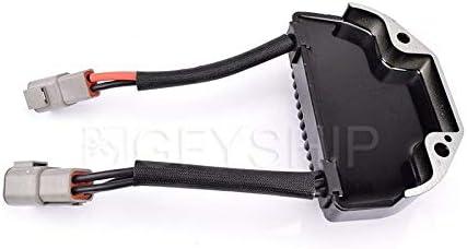 KYN Motorcycle MOSFET Voltage Regulator Rectifier for Harley Davidson Dyna Models 2006 2007 with Number 74631-06 7463106