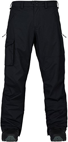 Burton Mens Covert Pant Insulated, True Black, Large