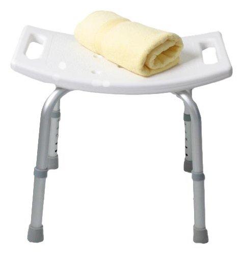 Roman Dietsche Enzo Rodi 221641 Sgabello per doccia e vasca da bagno, colore: Bianco Roman Dietsche GmbH