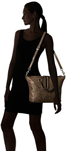 Satchel Veronica FRYE Charcoal Leather Handbag qSzBx5A7wB