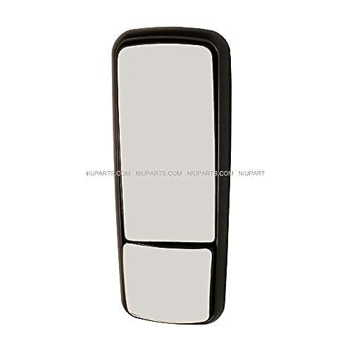 Door Mirror Heated Black - Driver Side (Fit: Freightliner Century)