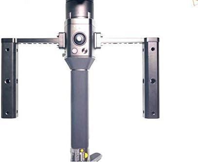 グリップ 拡張ボード ハンドヘルド コールドシューマウントがあり ネジ穴付き 延長ロングアームアクセサリー ハンドル ジンバル用