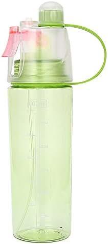 Chenchen ltd Sports Spray Bottle,Sport Spray Cooling Bottle Insulated Mist Squeeze Bottle 600ml