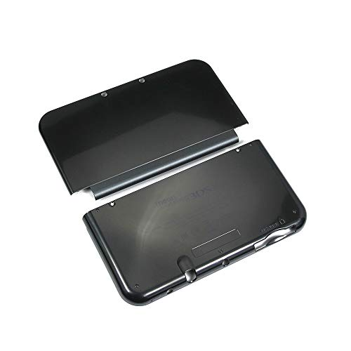 Valley Of The Sun New Outer Housing Shell Top & Bottom Case Battery Cover Black for Nintendo New 3DS XL LL New3DS XL LL New3DSXL New3DSLL Replacement Parts Accessories