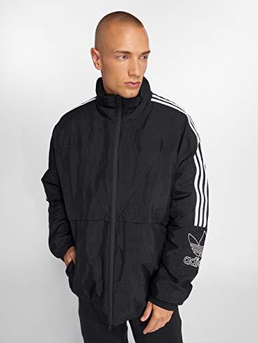Lg Adidas Winter Tref e Uomo Nero Giacche Cappotto Originals Outline Cappotti q1RzAPq