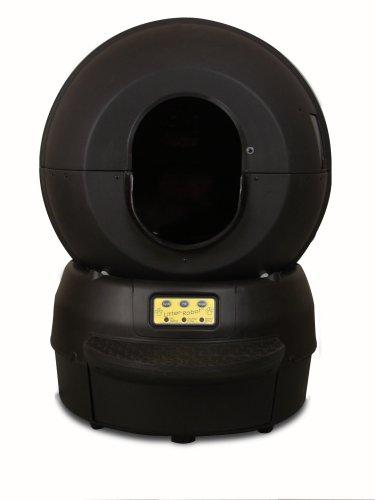 Litter Robot LRII Automatic Self-Cleaning Litter Box, Black, My Pet Supplies