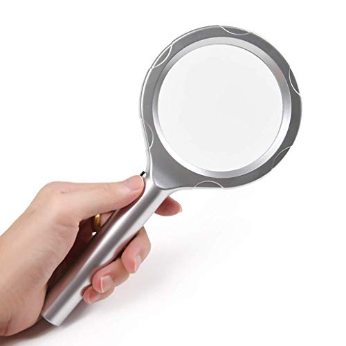 Handheld Optical Glass Lens with LED, Anbuliya, Low Vision, Student, Children Reading -