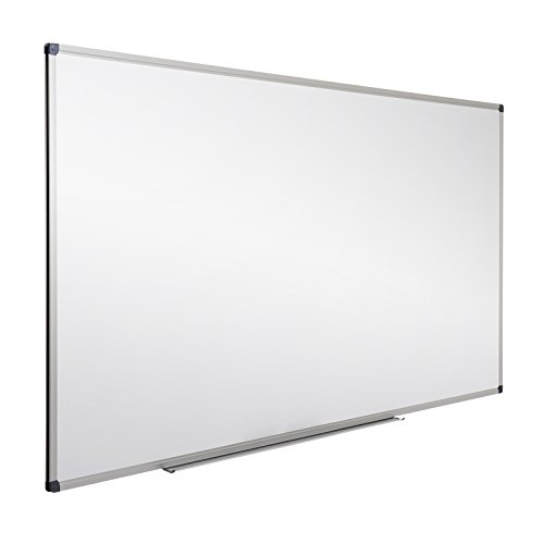 Office Marshal Professional Magnetic Dry Erase Board | White Board (Aluminum Framed Markerboard)