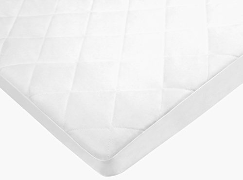 pexils-premium-quilted-waterproof-crib-mattress-pad-protector-fitted-for-standard-size-crib