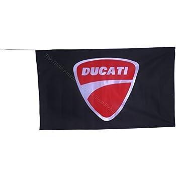 Amazon.com: MCCOCO Ducati Corse Flags Banner 3X5FT-35.4 x ...