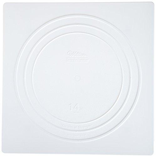 Wilton 302-1805 Decorator Preferred Square Separator Plate for Cakes, ()