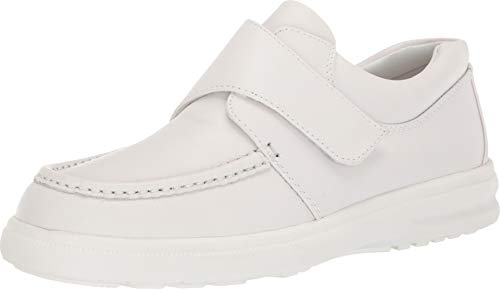 Hush Puppies Men's Gil White Leather 8.5 D US
