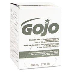 Ultra Mild Antimicrobial Lotion Soap 800 ml Bag in Box Dispenser Refill (GOJ921212)