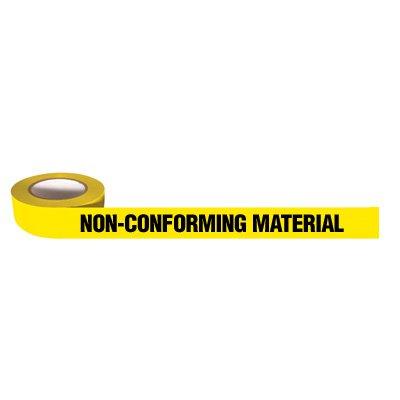 Tape-Non-CONFORMING Material