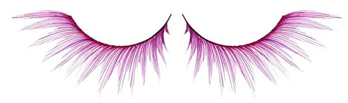 [Zinkcolor Rosy Pink Plum False Synthetic Eyelashes E354 Dance Halloween Costume] (Halloween Costumes Violet)