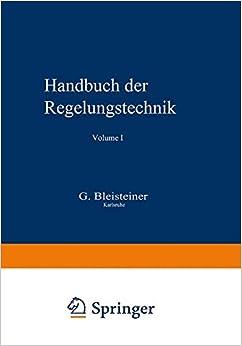 Book Handbuch der Regelungstechnik (German Edition)