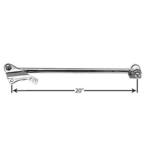 Polished Bolt-On Rear Panhard Bar, For Ford 8 & 9 Inch Axle