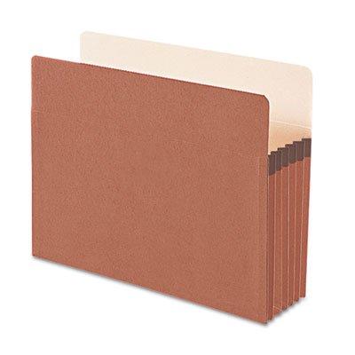 End Tab Expansion File (Smead File Pocket, Straight-Cut Tab, 5-1/4