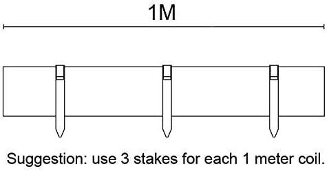 8 cm Bordura para jard/ín con estacas Basics