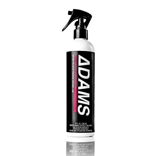 Adam's Ceramic Spray Coating - A True Nano Ceramic Spray Protection for Car, Boat & Motorcycle Paint - Top Coat Polish Sealant After Clay Bar, Polishing & Detail Car Wash (12 oz)