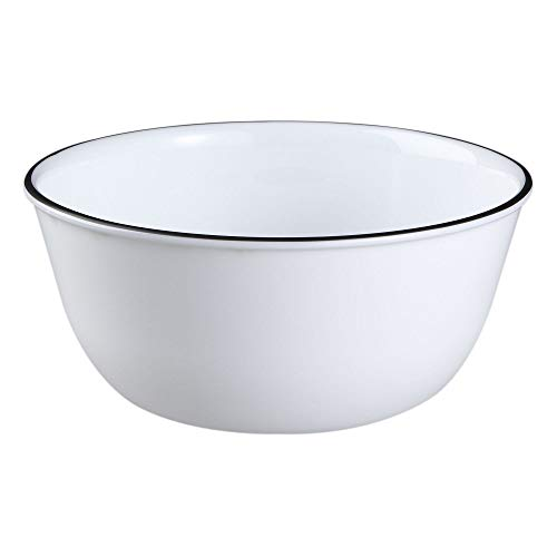 Cafe Black Dinnerware Serving Dishes 28-oz Soup Chili Bowl 2PCS Tkslick from Unknown