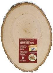 Bulk Buy: Walnut Hollow Basswood Country Round Plank 8 1/2