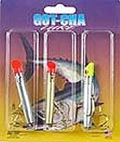 GOT-CHA G300GH-3PK Plug Assortment, 3 Pack, Gold ()