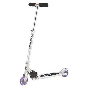 Razor A Lighted Wheel Kick Scooter – Black