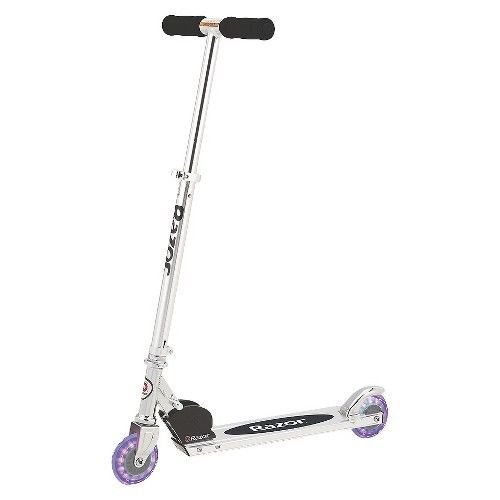 Razor A Lighted Wheel Kick Scooter - Black