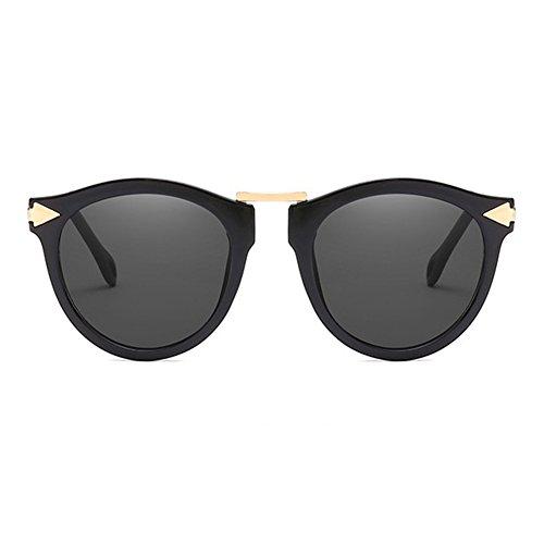 2018 de Gafas de el para Reflectantes Tipo Nuevo Gafas LanLan de Film gafafs Libre Gafas Estilo Gafas de Sol de Aire con de de Color Gafas Viajar Verde Sol Negro cumpleaños Regalo Moda Novedad de qOpxp57I