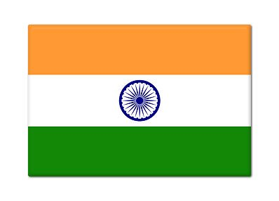 Flag of India Fridge Magnet (Flag Fridge Magnet)
